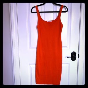 Zara fitted body-con style dress